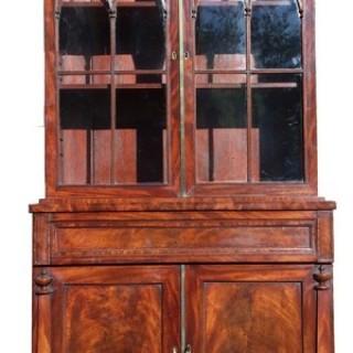 Antique Bookcase / China Cabinet / Drinks Cabinet (c. 1830	United Kingdom)