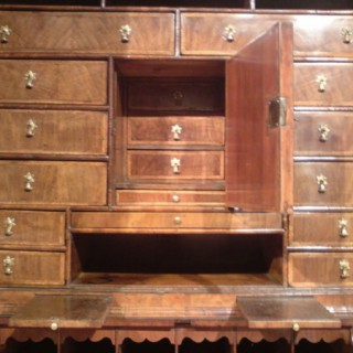 Antique Bureau Bookcase (c. 1710	English)
