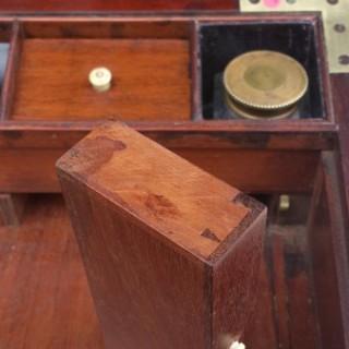 Antique Campaign Writing Box (1780 to 1800England)