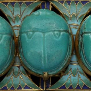 Egyptian Revival Buckle Belle Epoque Period