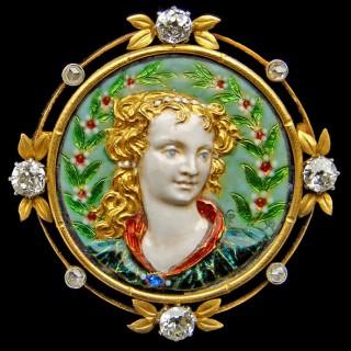 Renaissance Revival Brooch