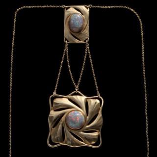 Fine Secessionist Necklace