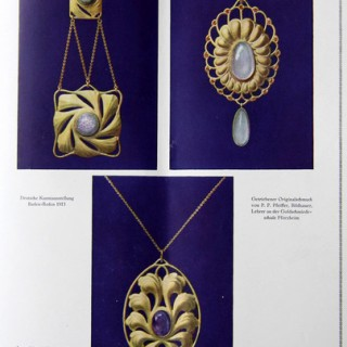 Fine Secessionist Necklace