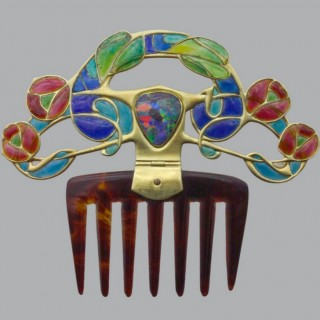 Archibald Knox Diadem Comb for Liberty & Co