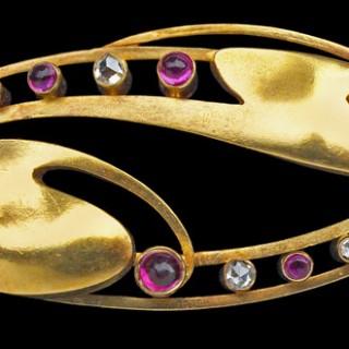 Exceptional Art Nouveau Brooch