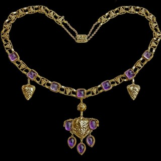 The Grapevine Arts & Crafts Necklace