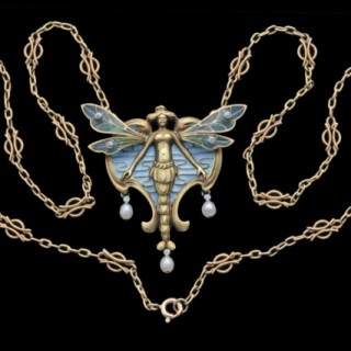 Beautiful Symbolist Pendant