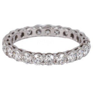 Tiffany Diamond eternity ring