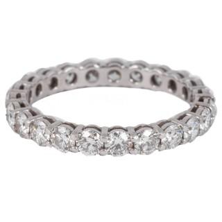 Tiffany Diamond eternity ring