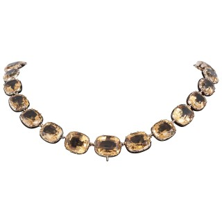 Citrine Riviere Necklace