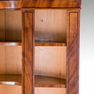 REGENCY PERIOD OPEN BOOKCASE