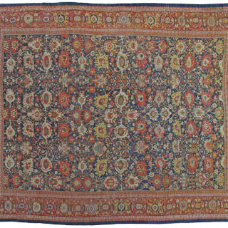 Antique Oversize Ziegler carpet