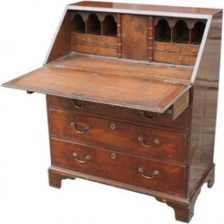 19th Century Oak Bureau