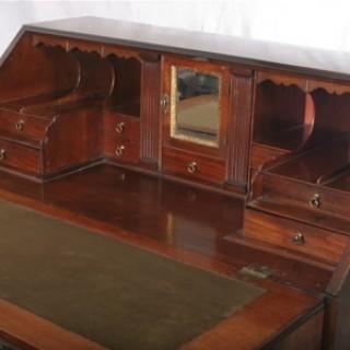 Mahogany Georgian Bureau