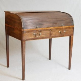 Mahogany Georgian Roll Top Desk