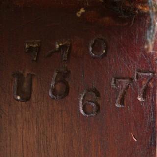 Antique Gainsborough LIbrary Chair