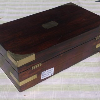 antique games box / playing card box