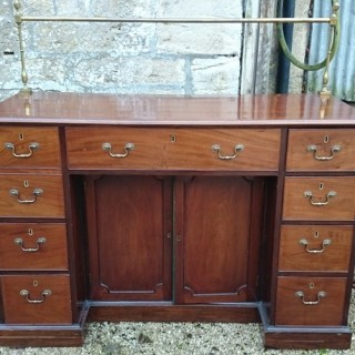 Antique George III Period Mahogany Sideboard