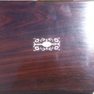 Antique Jewellery Box / Ladies Work Box