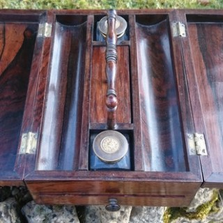 Antique Pen And Ink Tray