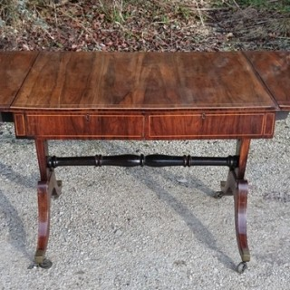 Antique Rosewood Sofa Table