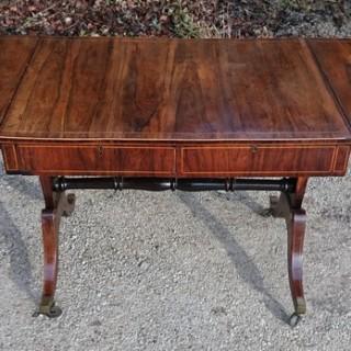 Antique Rosewood Sofa Table