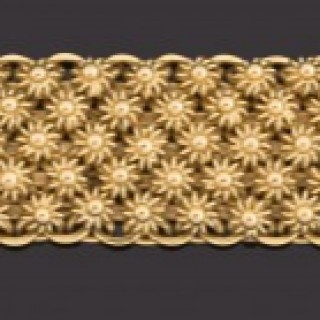 Heavy 18ct gold bracelet