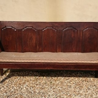 Antique Vernacular Bench or Settle