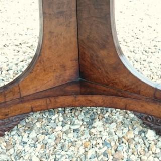 Burr Oak Antique Breakfast Table After George Bullock
