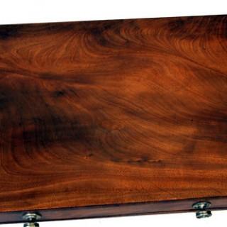 Antique Mahogany Regency Side Table