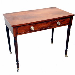 Antique Mahogany Regency Side Table