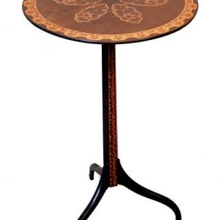 Antique 19th Century Italian Goncalo Alves Occasional Table