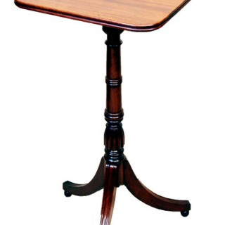 Antique Regency Mahogany Oblong Wine Table