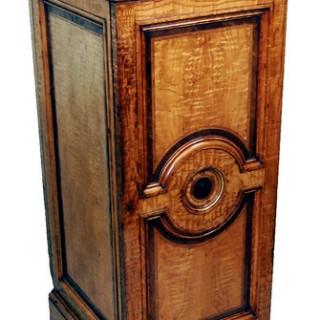 Antique 19th Century Hungarian Ash Cupboard