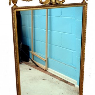 Antique 19th Century Gilt Pier Mirror
