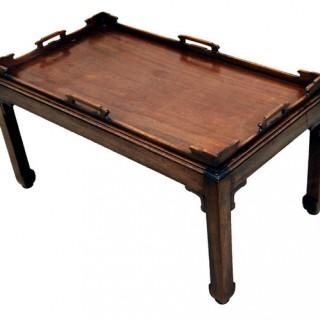Georgian Style Mahogany Tray Table
