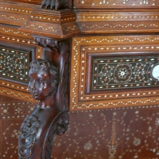 Italian walnut cabinet