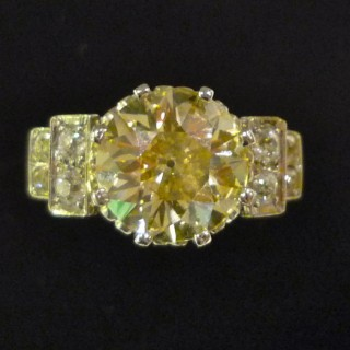 Natural Diamond 3.24 carat Soliaire