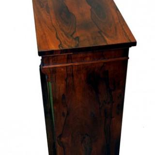 Antique Regency Rosewood Side Cabinet