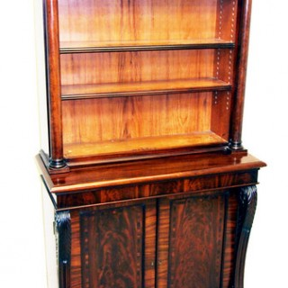 Antique Regency Mahogany Bookcase