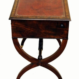 Antique Regency Mahogany Writing Table