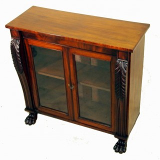Antique Regency Mahogany Side Cabinet
