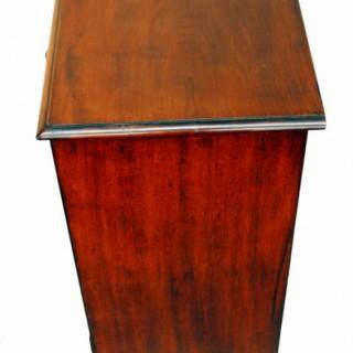 Antique Mahogany Pot Cupboard Bedside Table