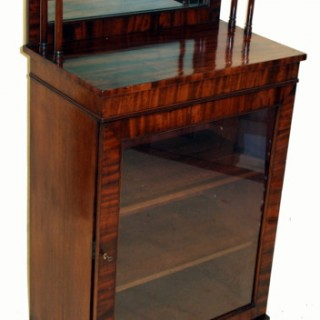 Antique Regency Mahogany Cheffonier