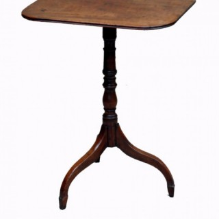 Antique Regency Mahogany Occasional Table