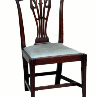 Antique Set Of Six Mahogany Dining Chairs