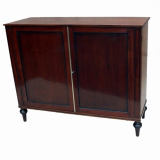 Antique Mahogany Side Cabinet Cheffonier