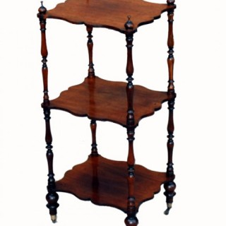 Antique Rosewood Whatnot