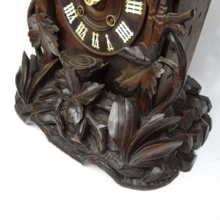 Antique Black Forest shelf cuckoo clock