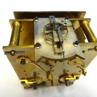 Gorge striking carriage clock by Leroy